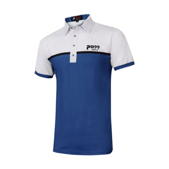 2019 Short Sleeve Men OEM Logo Golf Plain Polo Shirt Custom Polo Shirt