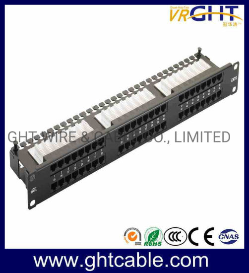 FTP Cat6e 24 Ports Patch Panel Ght pictures & photos