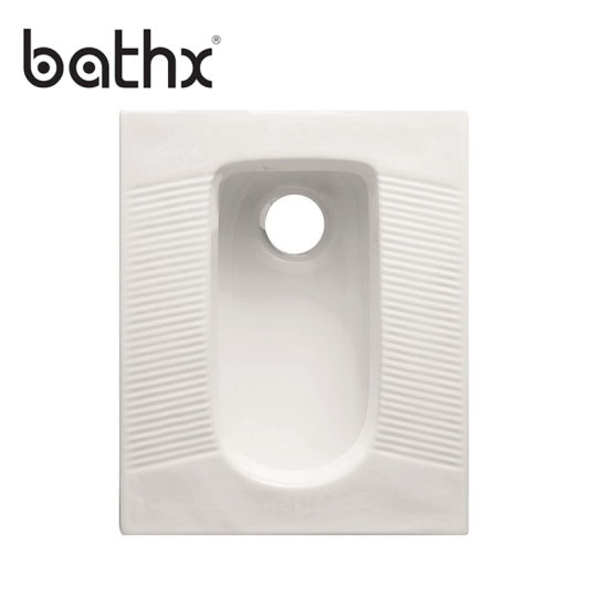 Cheap Price Environmental Protection Sanitary Ware Porcelain Squatting Squat Toilet (PL-P306)