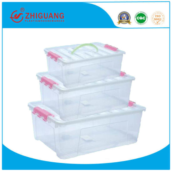 New Design Plastic Storage Box, Customized Color Food Container