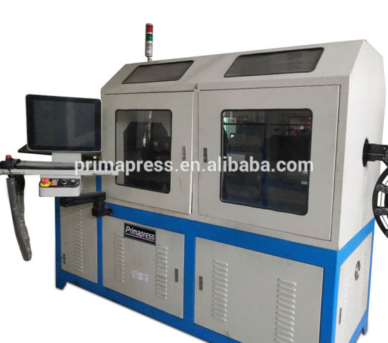 5 Axis CNC Automatic Stainless Steel or Iron 2D 3D Wire Bending Forming Machine