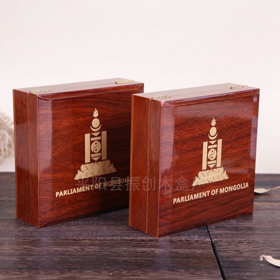 Wooden Custom Logo Eco-Friendly Rectangular Unfinished Packaging Small Gift Box