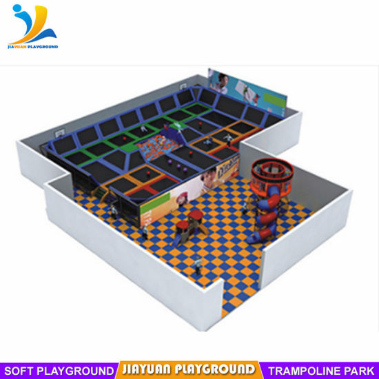 Used Trampoline Park for Sale, Generation3.0 Playground Equipment in Jiayuan Playground