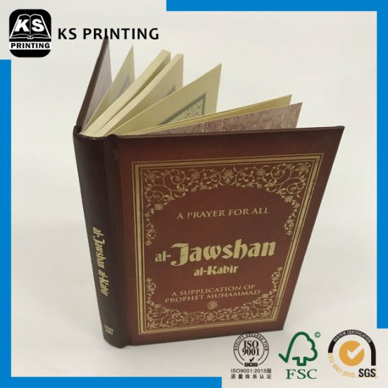 Good Quality Hardcover Printing Service Hardback with Foil Stamping pictures & photos