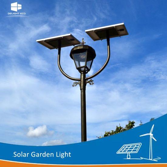 Manufacturer Ce/RoHS/FCC Single/Double L& Park Solar LED Garden Outdoor Lighting  sc 1 st  Yangzhou Delight Eco Energy Supplies Co. Ltd. & China Manufacturer Ce/RoHS/FCC Single/Double Lamp Park Solar LED ...