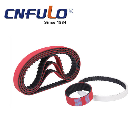Coated Timing Belt, Red Timing Belt, 225L pictures & photos