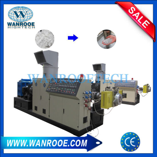 PE PP HDPE LDPE Film Recycling Agglomerator Pelletizing Line pictures & photos