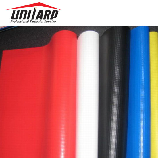 High Tensile 18oz 610GSM PVC Vinyl Coated Tarpaulin Industry Duct