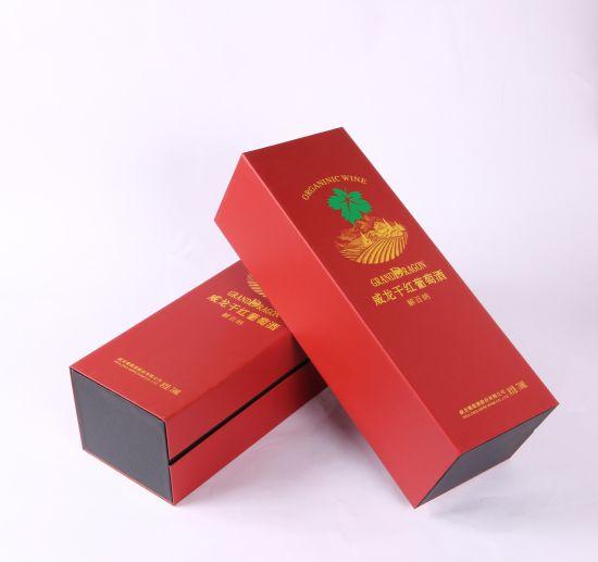 Corrugated Packaging Box Dry Red Wine Box Craftsmanship