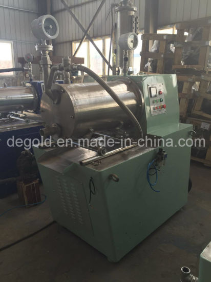 Degold 30 Liters Horizontal Bead Mill for Paints Production pictures & photos