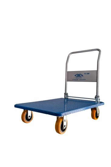 850kg New Designed Steel Platform Hand Truck pictures & photos