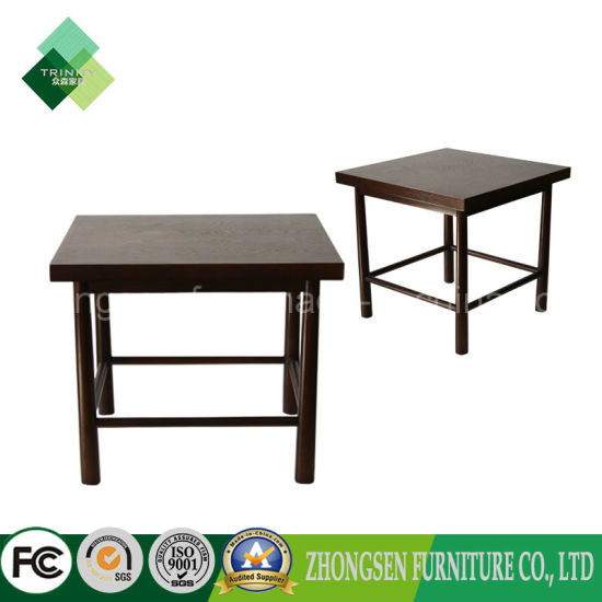 Solid Wood Furniture Square Table Dining Used On Cafe Coffee
