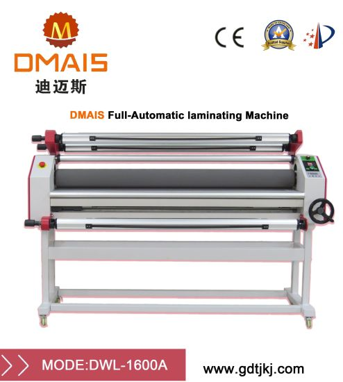 DMS-1600A Wide Format Label Laminating Machine Supplier pictures & photos