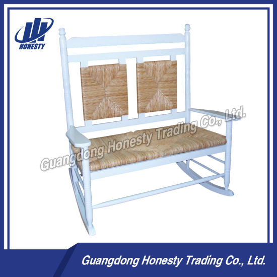 China Rattan Wood Rocking Chair With