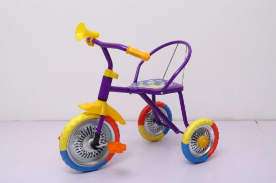 Tricycle with EVA Color Wheel Children Ride on Toy Trike pictures & photos