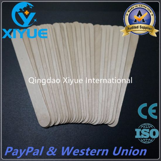 a Class Disposable Birch Wood Tongue Depressor with High Quality