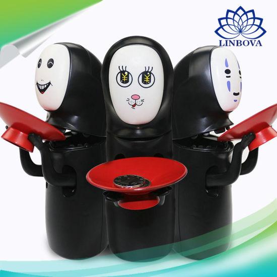 China Promotion Christmas Gift Money Saving Box No Face Man Plastic ...
