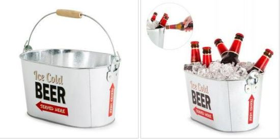 Metal Ice Bucket Drink Holder pictures & photos