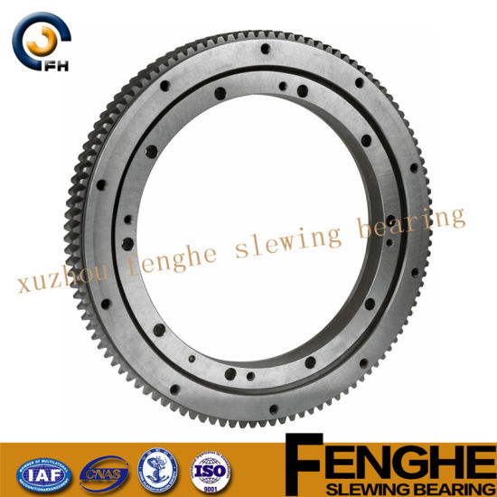 Three-Row Roller Slewing Bearing - No Gear pictures & photos