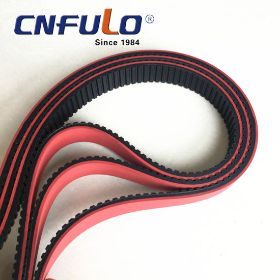Coating Timing Belt with Red Color pictures & photos