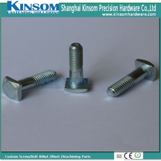Square Head Partial Bolts High Strength 4.8-12.9 Grade pictures & photos