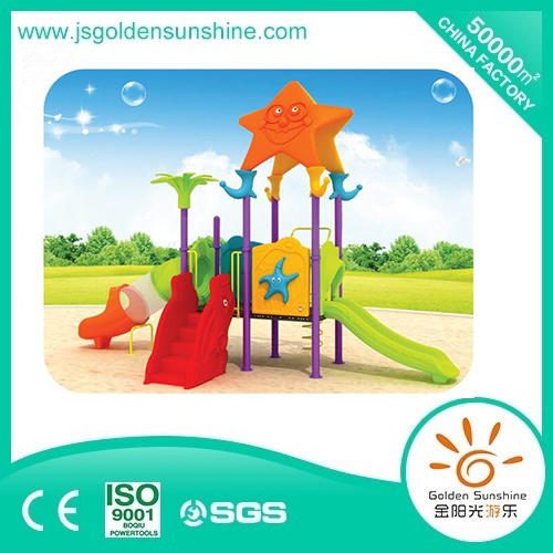 Outdoor Playground Slide in Sea Star with Ce/ISO Certificate