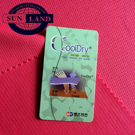 Cooldry Quick Dry Sport Polyester Mesh Fabric