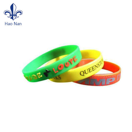 Factory Selling Silicone Wristband with Custom
