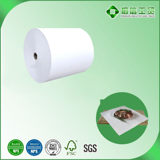 Meat Packaging Paper in Jumbo Roll Note Coating Paper Biodegradable Wholesale
