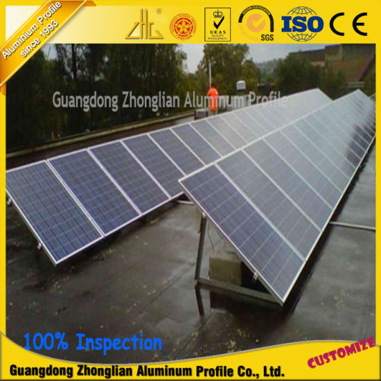 Aluminium Extrusion Profile for Solar Panel Manufacturers in