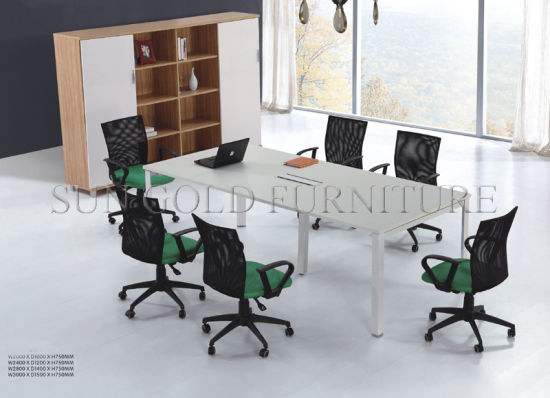 China Supplier Price Wood Modern Conference Desk (SZ-MT033) pictures & photos
