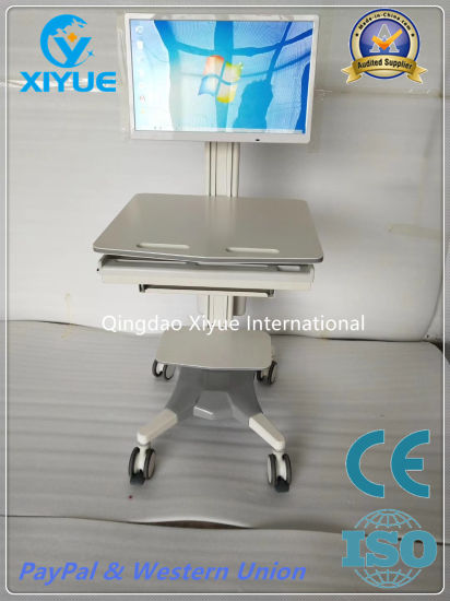 Hospital Nurcing Center Use Aluminium Alloy Trolley with High Quality