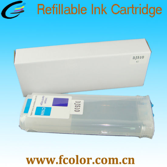 Refillable Ink Cartridge with Chip for HP Deskjet DJ510 Printer pictures & photos
