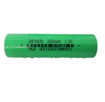 2600mAh 3.6V 18650 Li-ion Rechargeable Battery 18650 Lithium Battery for Emergercy Lamp