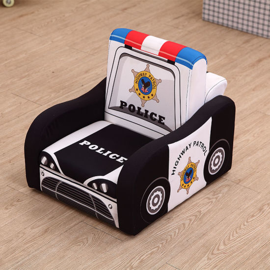 Kids Car Shape PVC Sofa and Chair/ Children Furniture