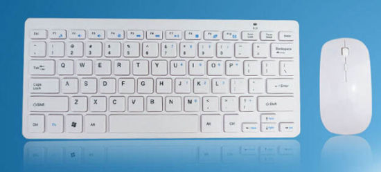 Apple′s Ultra-Thin Paragraph Multimedia Wireless Laptop Computer Mouse and Keyboard pictures & photos