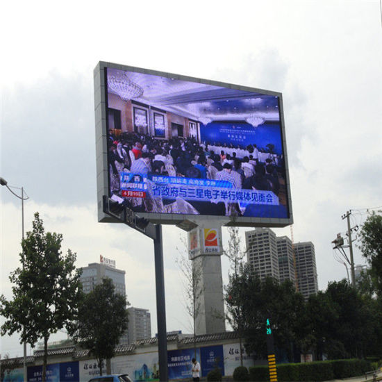 Outdoor Full Color High Resolution P10 Programmable LED Display
