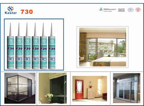 SGS Certification Acetic General Purpose Silicone Sealant (Kastar730) pictures & photos