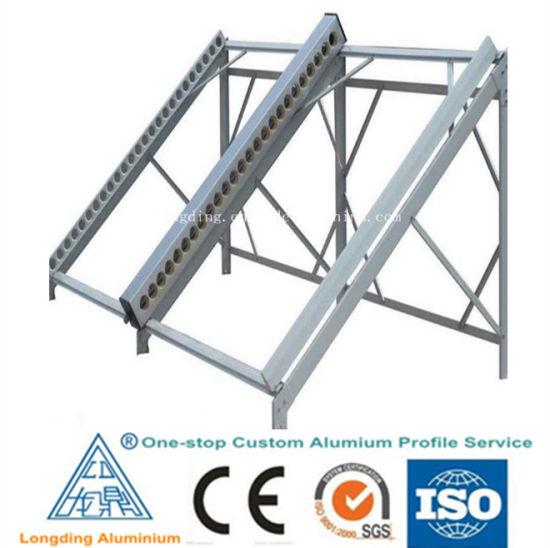 China Customized Aluminium Extrusion Profile for Solar Frame - China ...