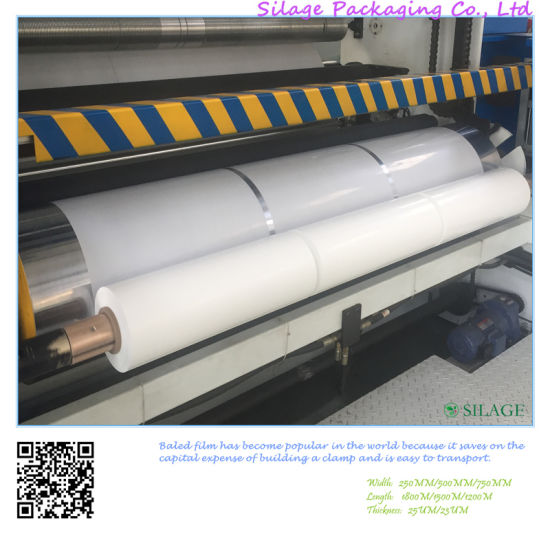 White Stretch Film for Silage Baler Wrap pictures & photos