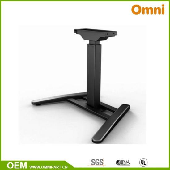 Single Lifting Column Electric Height Adjustable Desk (OM-0112)