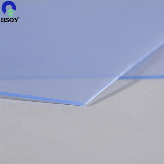 China 900*1200mm Good Impact PVC Transparent Sheet for Garment ...