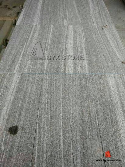 Nero Santiago Granite Flooring Tiles For Outdoor Driveway Walkway