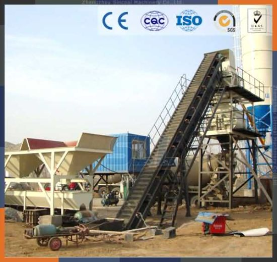 Hzs25 Concrete Batching Plant New Equipment Lowes Cement Mixer Price