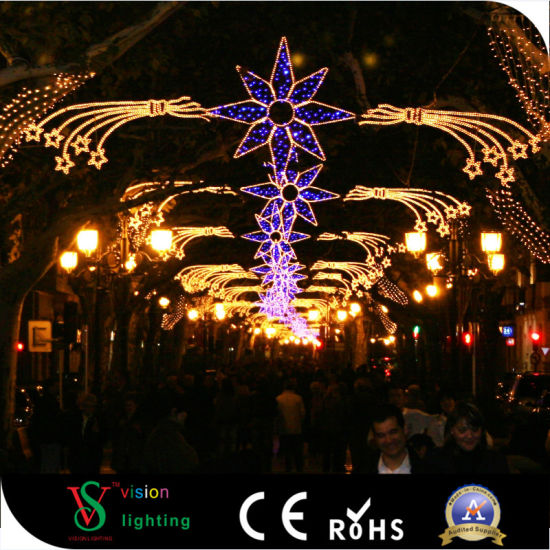 outdoor commercial christmas street lights decoration