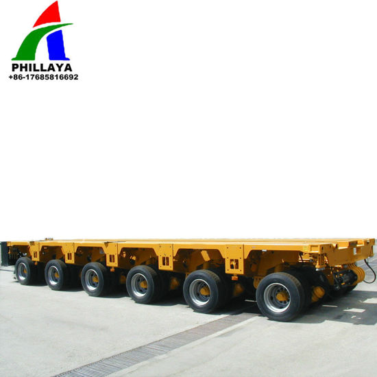 Heavy Duty Special Vehicle Truck Trailer for 100-500ton Equipment Transport pictures & photos