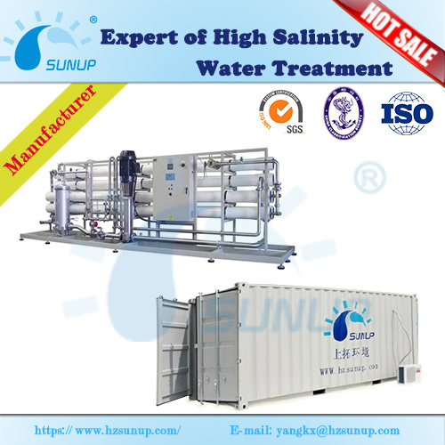 50tpd Containerized Reverse Osmosis Seawater Desalination Plant pictures & photos