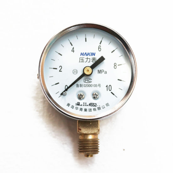 Top Quality 50mm General Pressure Gauge Manometer with Flange Connection and Stainless Steel