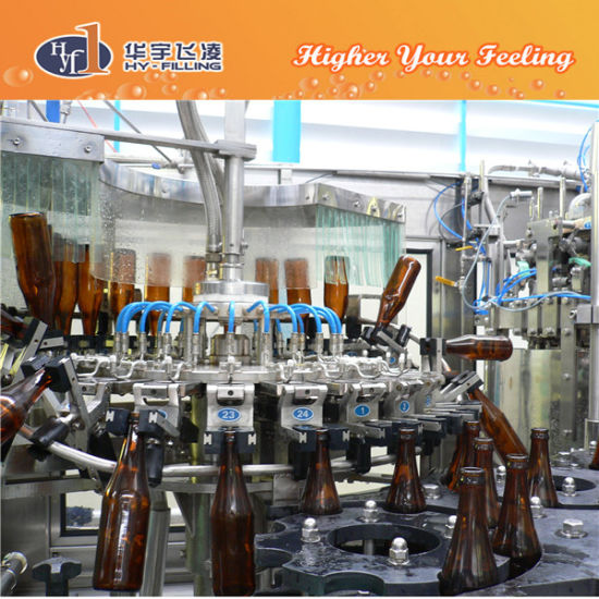 Hy-Filling Glass Bottle Draft Beer Bottling Machine pictures & photos