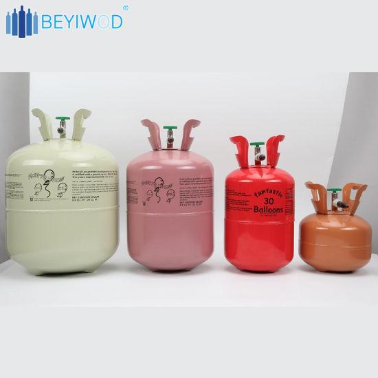 China Helium Gas Tank Refill Balloons Helium Gas Tank Cylinder